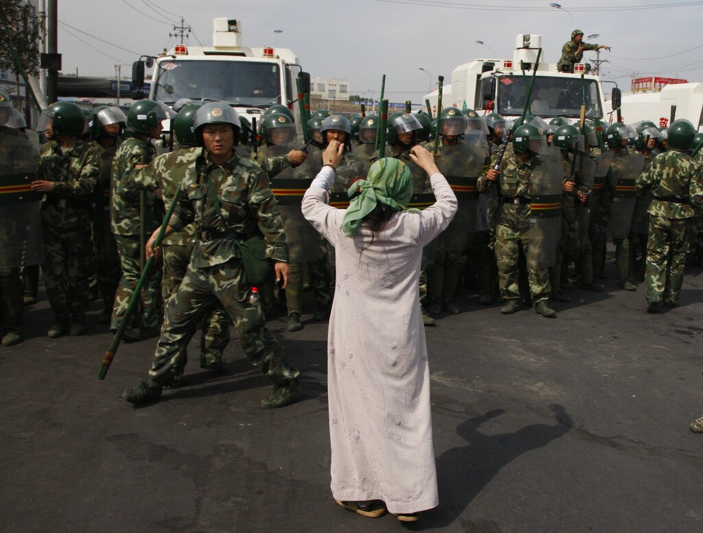 China close detention centers in Xinjiang — CHINA UN