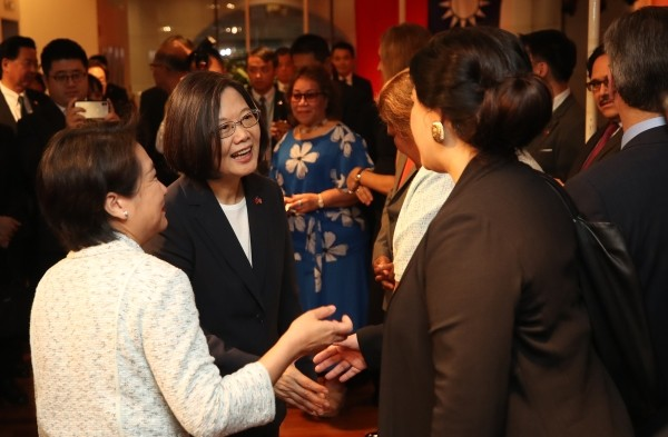 US visit risks Beijing's fury for President of Taiwan