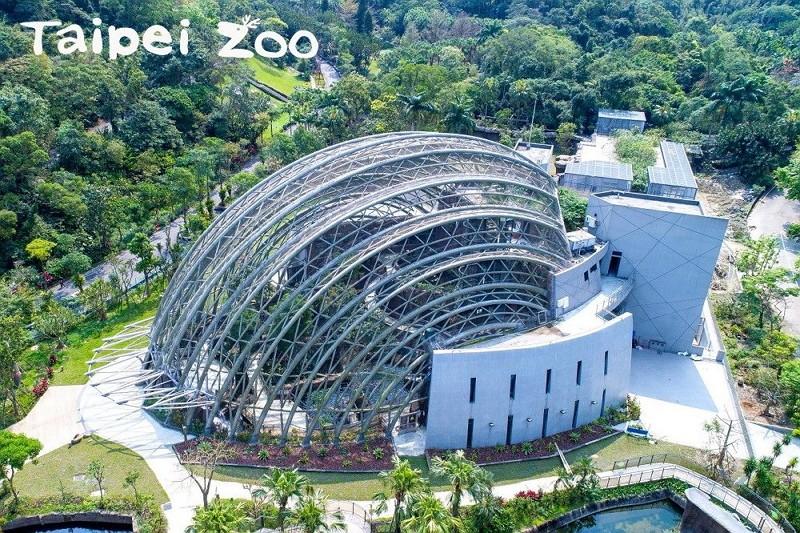 Pangolin Dome (Taipei Zoo photo)