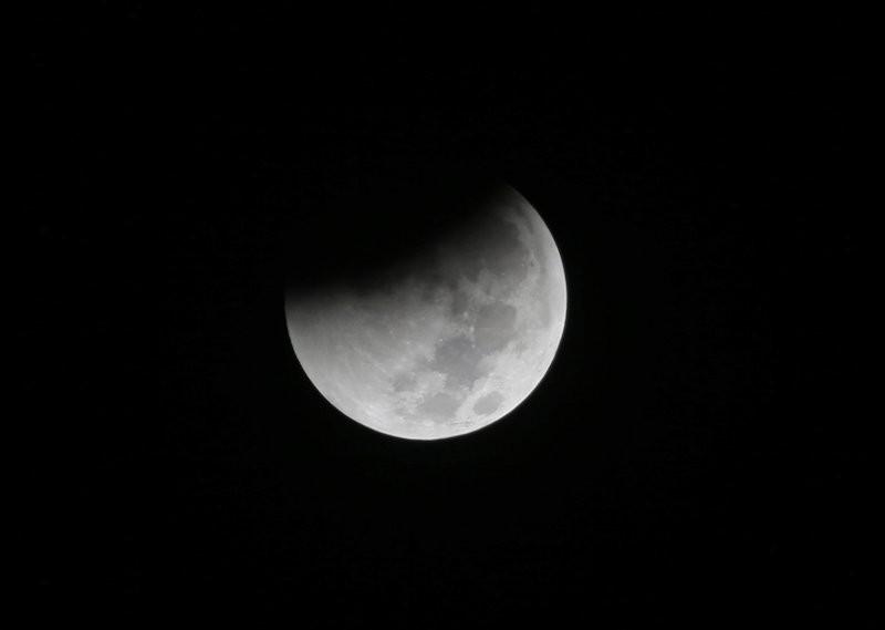 A lunar eclipse in 2018.