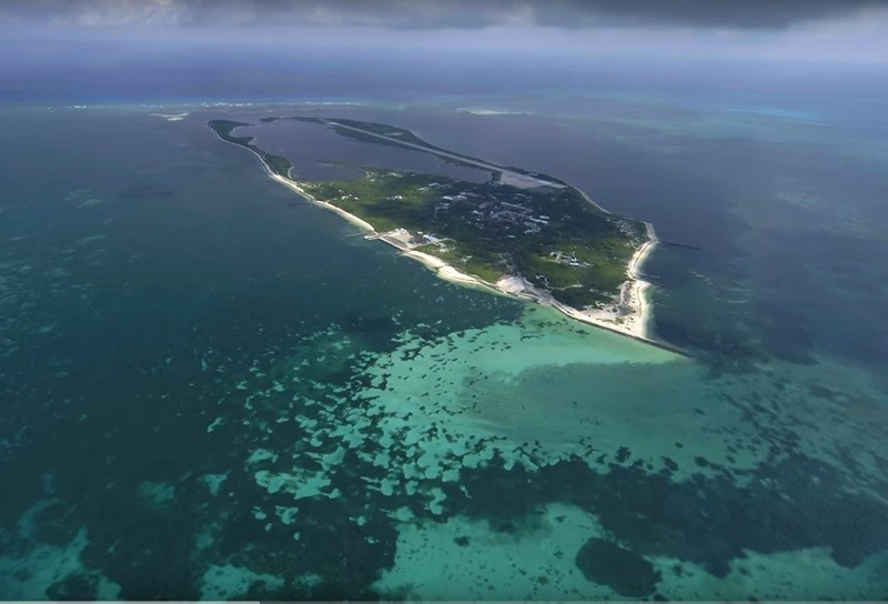 Dongsha Island (photo courtesy of the Construction and Planning Agency).