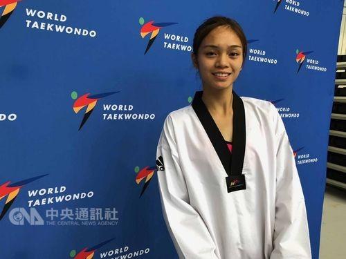 Taiwanese taekwondo star Su Po-ya.