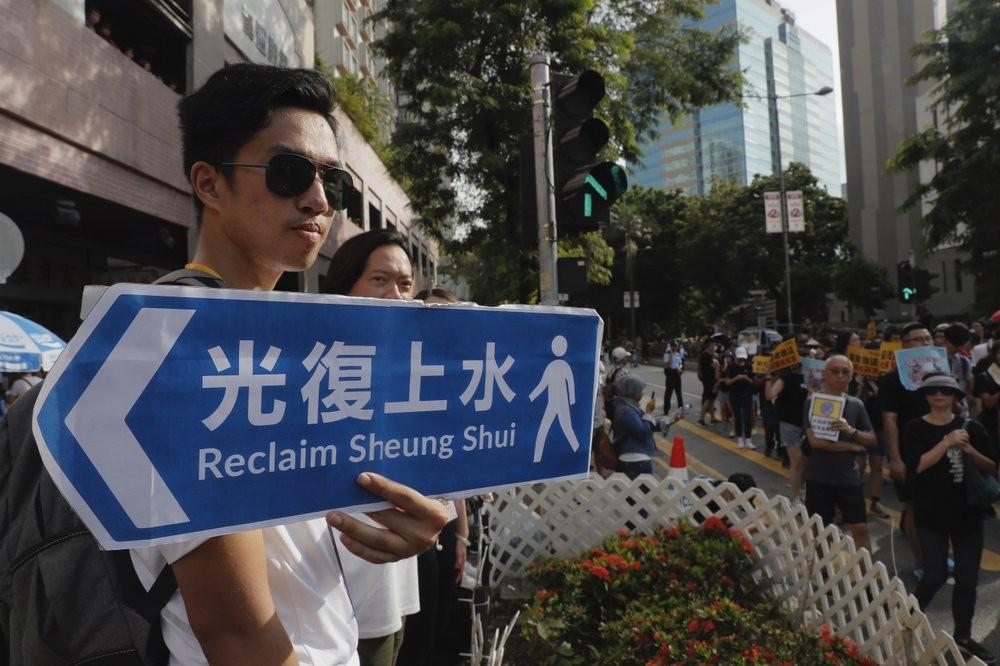 The Hong Kong neighborhood of Sheung Shui was the ...