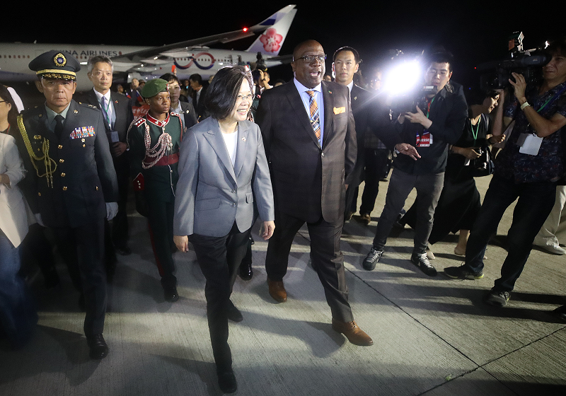 President Tsai and Prime Minister Harris at RLB In...