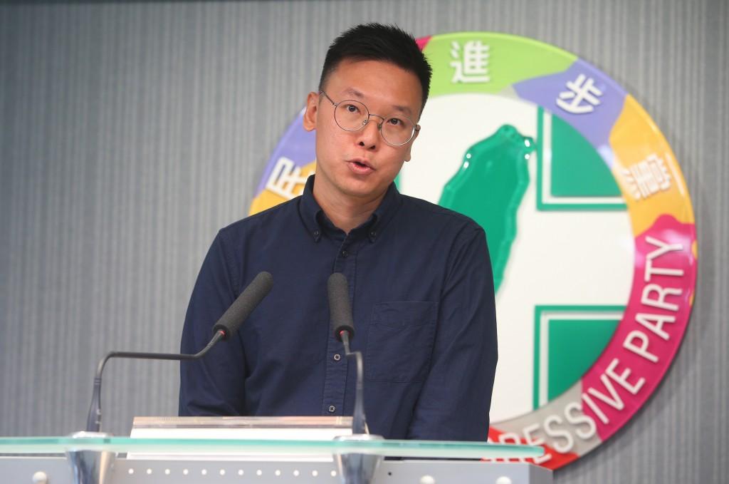 Lin Fei-fan joins the DPP as the deputy secretary-general on July 15 (Source: CNA)