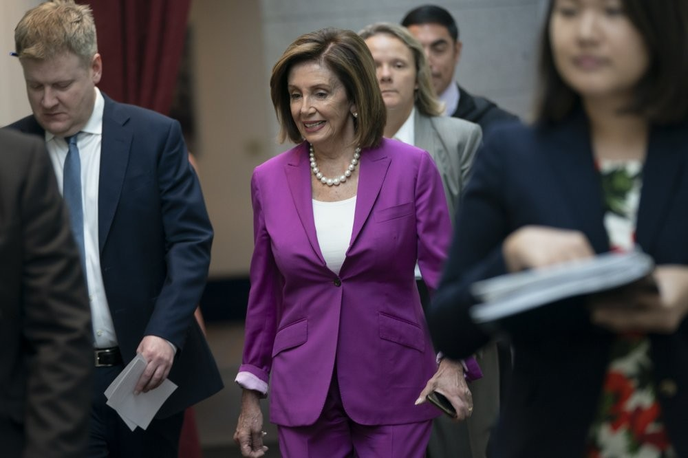 House Speaker Nancy Pelosi (AP photo)
