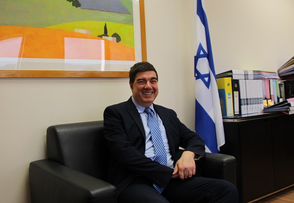 Asher Yarden,Director of the Israel Economic and Cultural Office in Taipei