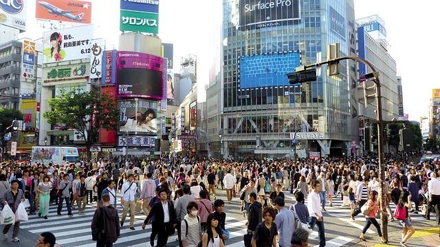 Shibuya streets (Source: pixabay)