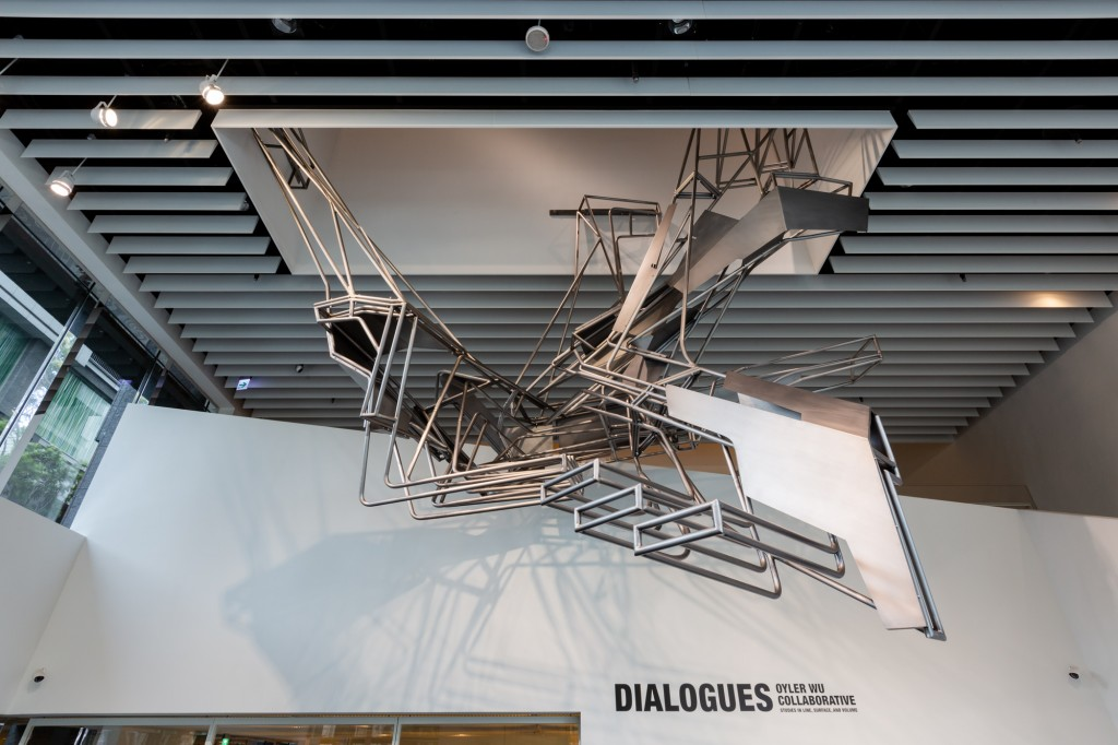 「對話:奧伊勒吳聯合事務所」個展於20日在台北開幕(照片來源:忠泰美術館提供)