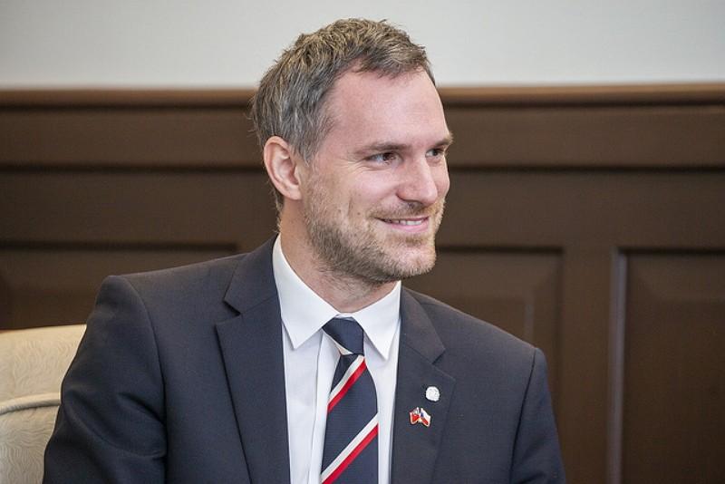 捷克布拉格市長賀吉普(圖/總統府)