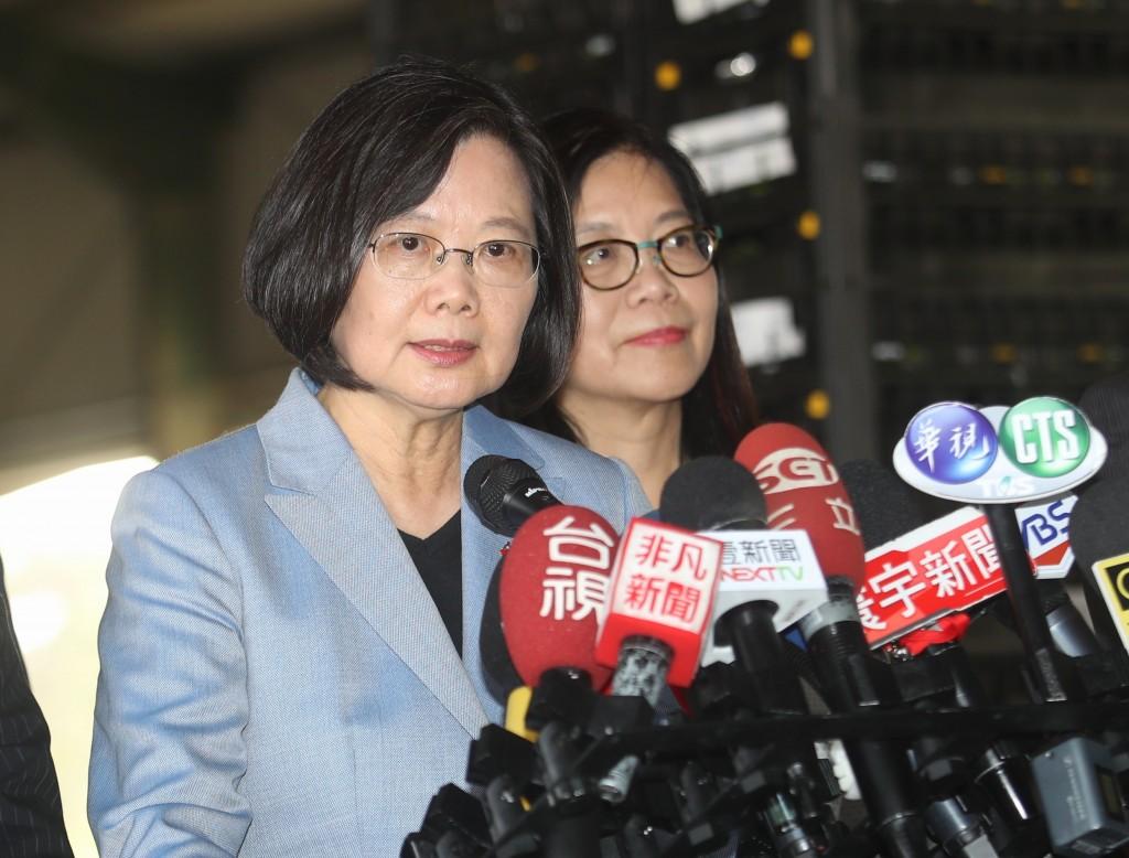 Tsai says 'Hong Kong friends' could be given asylum on humanitarian grounds