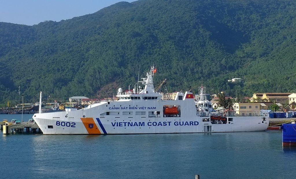 Vietnam Coast Guard Vessel