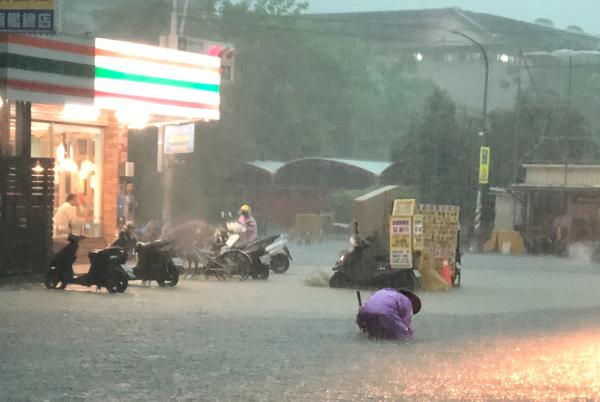 Heavy rain in Kaohsiung, July 19