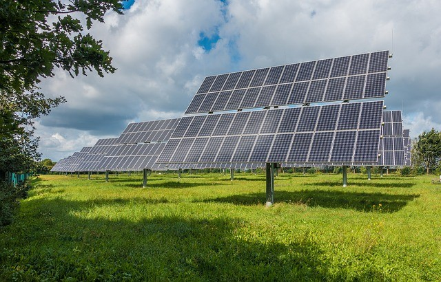 The solar power system (Source: Pixabay)