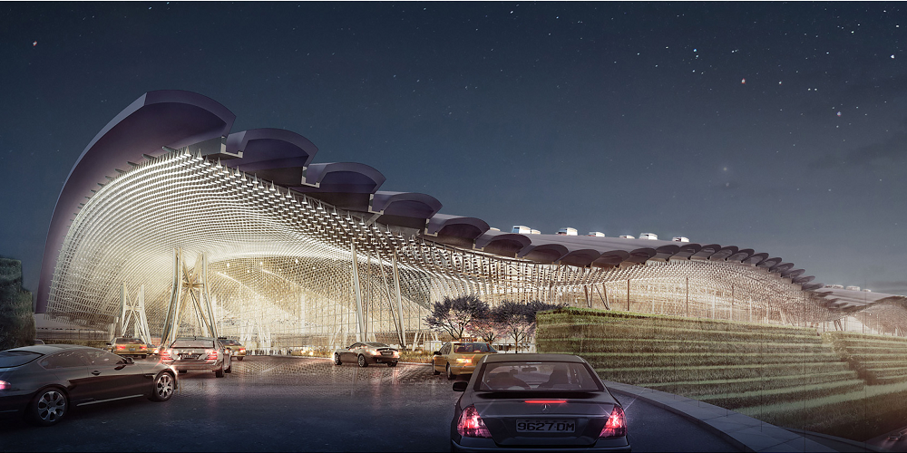 Underfunded Terminal 3 at Taoyuan Intl. Airport at risk of design revision