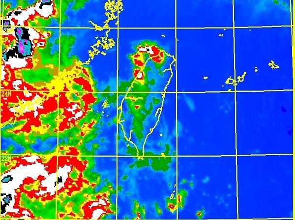 CWB satellite image.