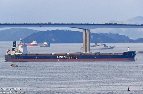 CK Bluebell (from MarineTraffic.com)