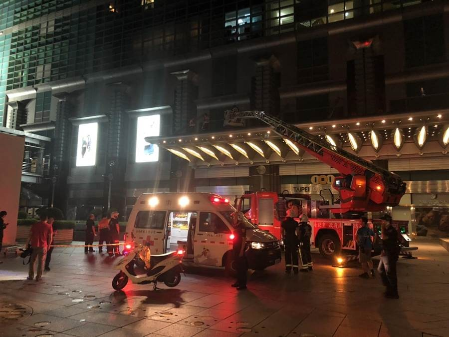 Worker falls off Taipei 101 to his death
