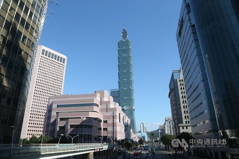 台北101檔案照片 (中央社)