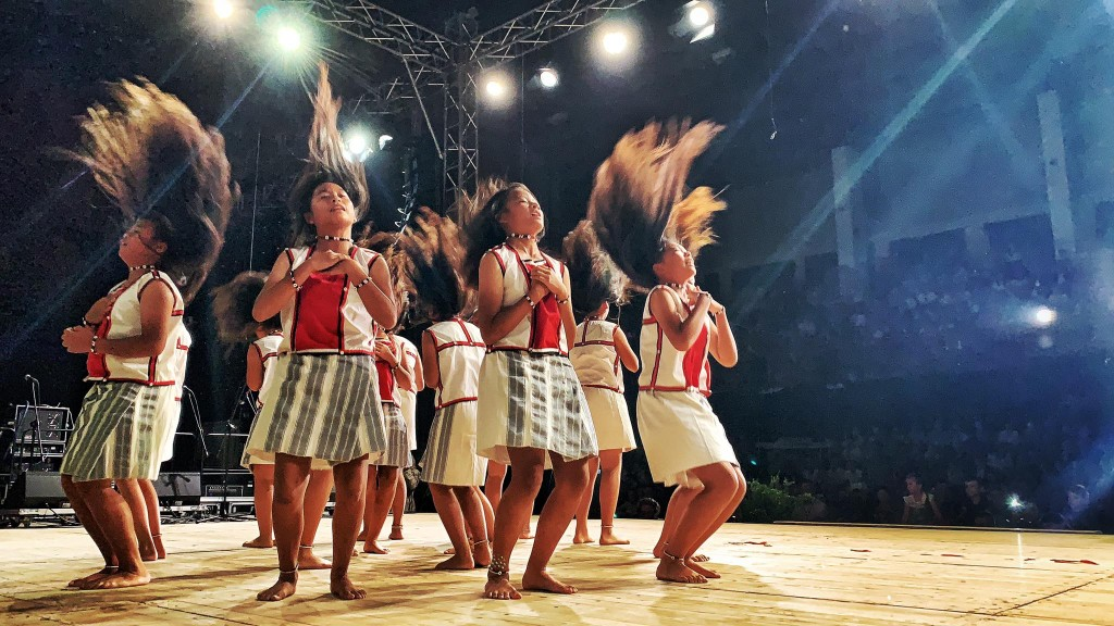 Traditional Tao dance ritual Maligni (Source: The Flying Fish's Facebook)