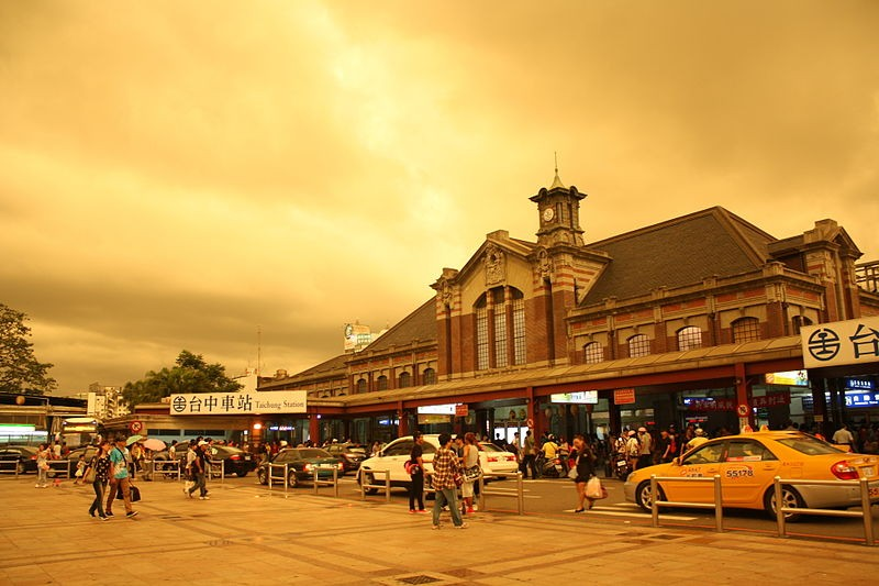 Taichung Railway Station in 2013