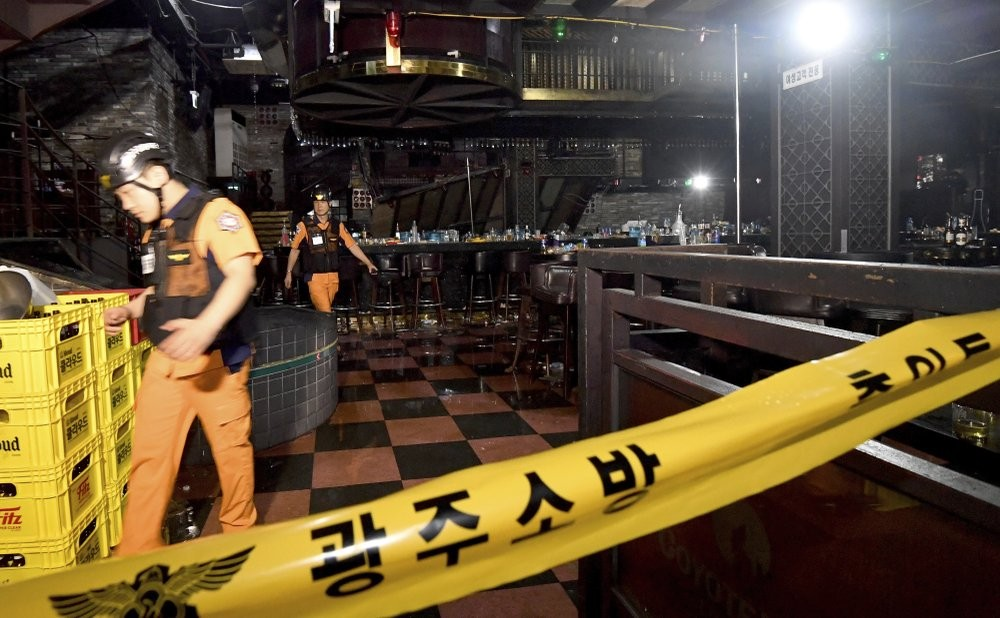 Nightclub collapse claims two in South Korea