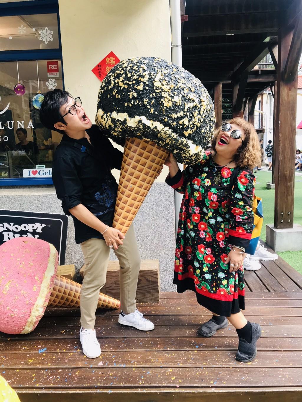泰國知名旅遊行腳節目訪台中 大讚好吃、好玩、好好買(圖/ 臺中市政府)