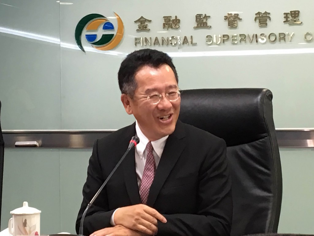 FSC chief Wellington Koo announced the names of Taiwan's future three Web-only banks Tuesday July 30.