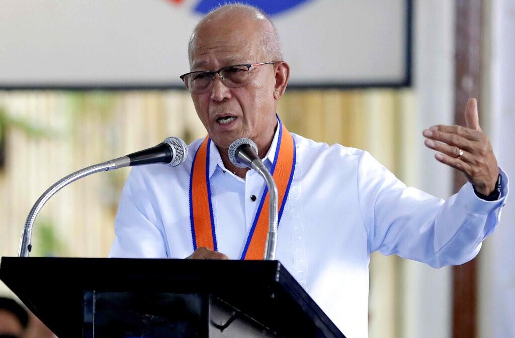 Philippine Defense Secretary Delfin Lorenzana