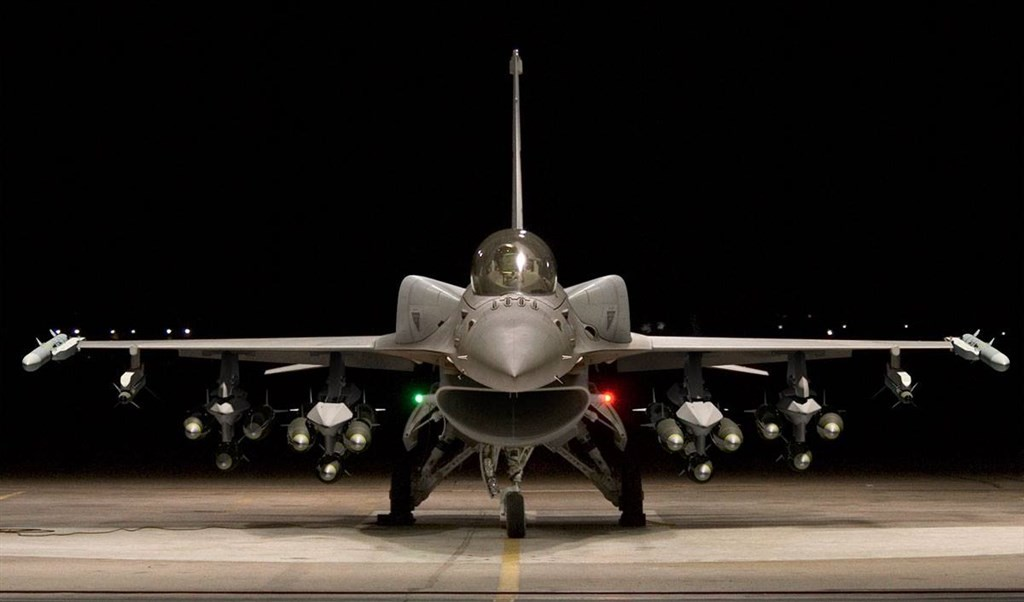 The F-16V 'Viper' fighter jet (photo courtesy of Lockheed Martin).