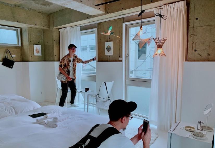 日本旅店Nibunno使用台文創商品推出「Live In Taiwan Design」(圖/文化部)