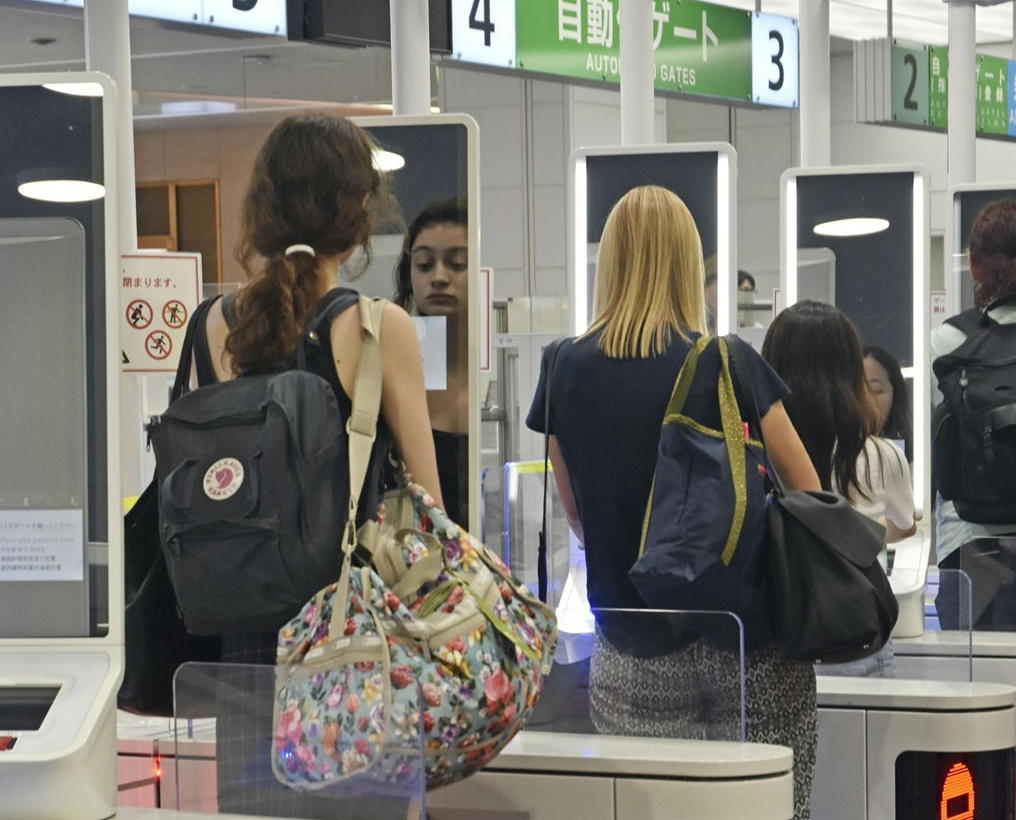 Haneda Airport quick-gates (Photo from Haneda Airport)