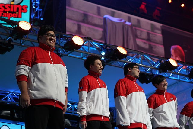 Taipei Assassins (now J team), a Taiwanese professional e-sports team (Source: Wikimedia Commons - artubr)