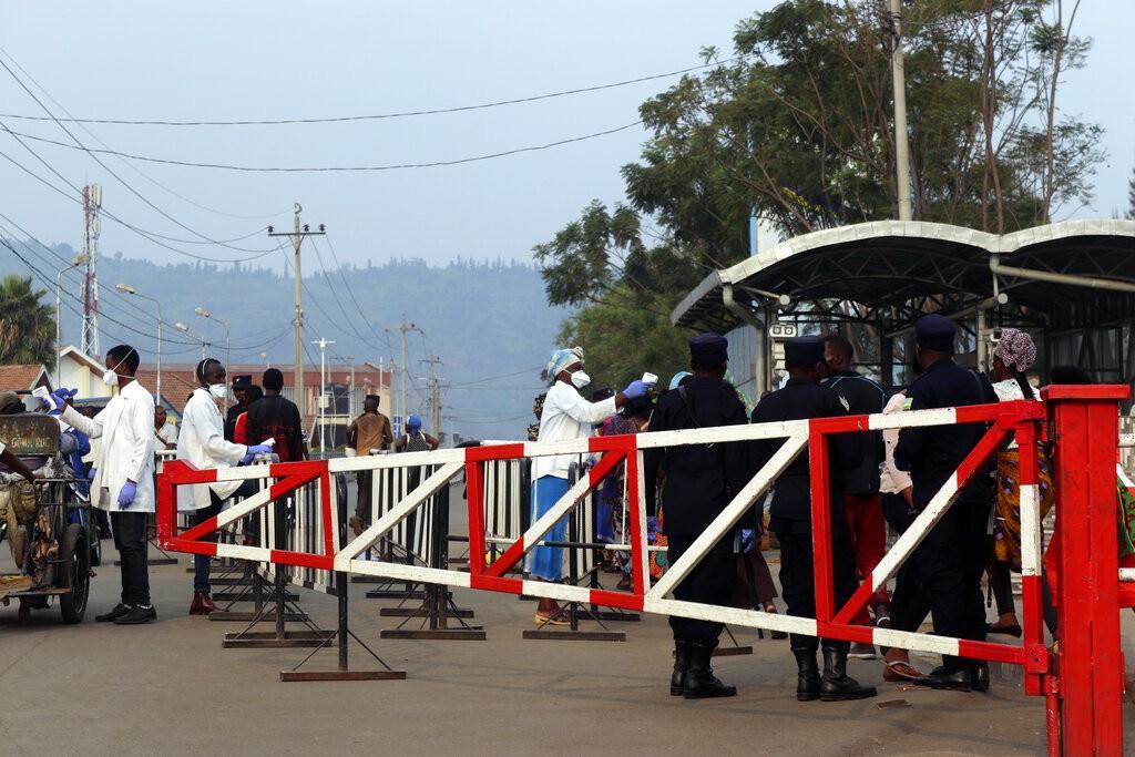 盧安達、剛果民主共和國邊境(圖/AP)