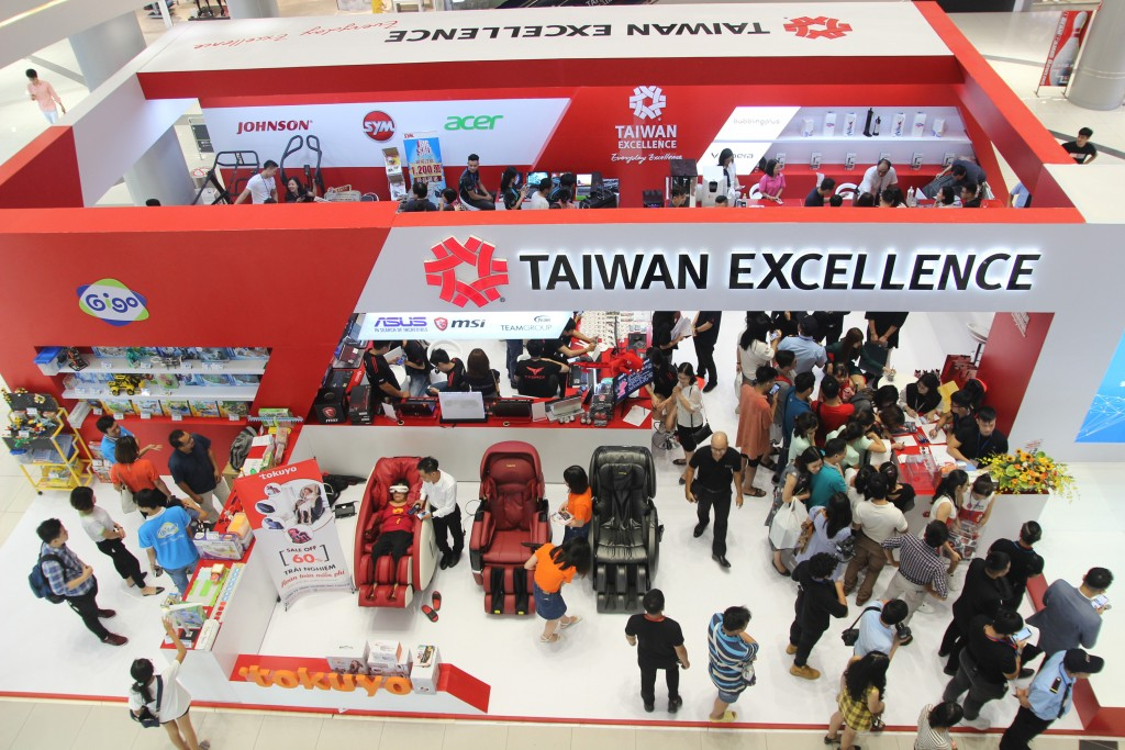 The August 3-4 Taiwan Excellence fair in Hanoi, Vietnam.