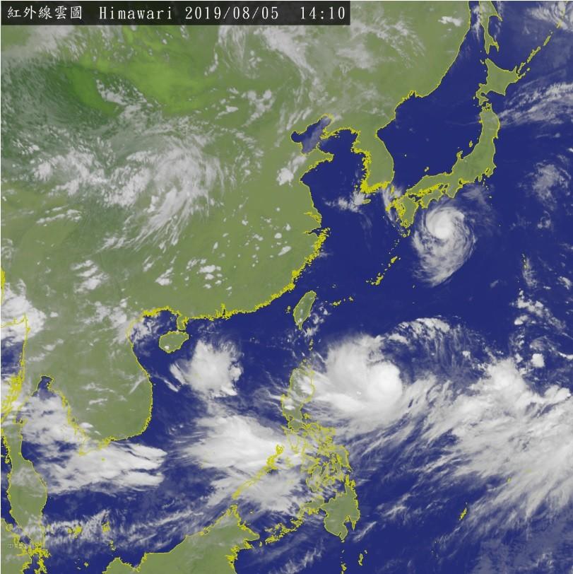 利奇馬恐增強為中颱 侵台機率大增