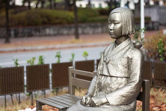 和平的少女(示意圖,地點非是次展覽)