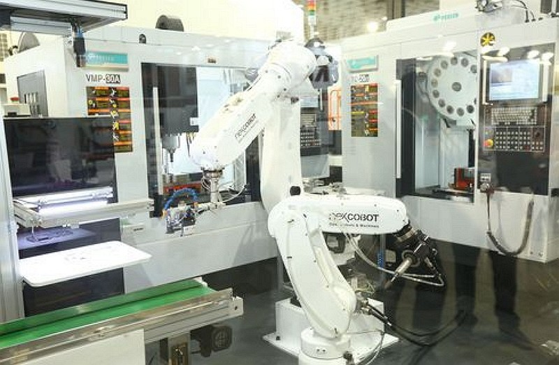 (Taiwan's International Machine Tool Show website photo)
