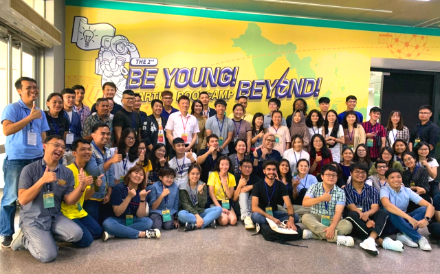 Be Young! Beyond! Startup Bootcamp 2019 (Source: The Ministry of Education)