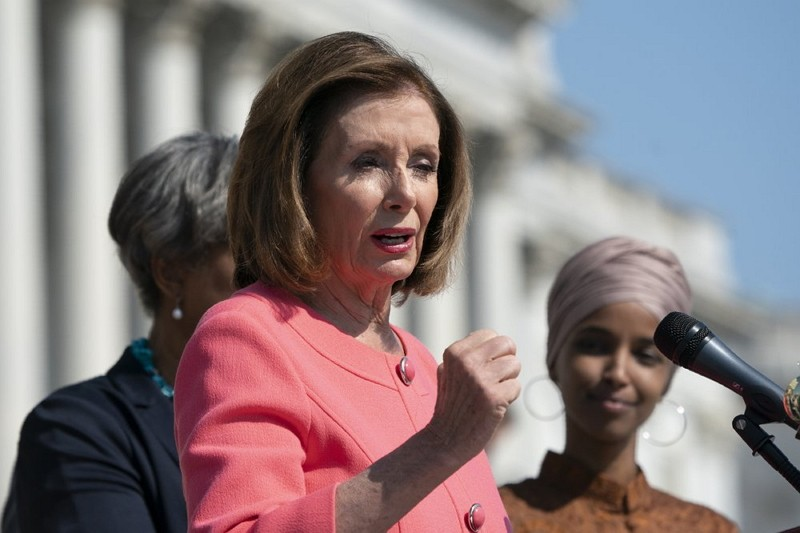 Speaker of the House Nancy Pelosi (AP photo)