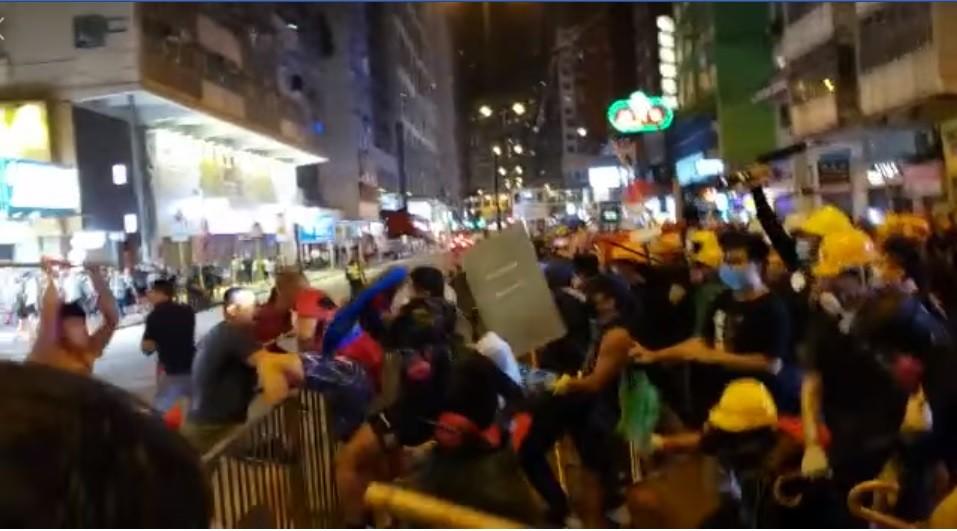(Screenshot from Facebook video)