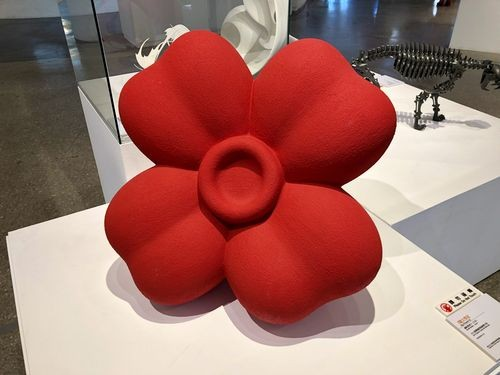 Big Flower-n2 by Isozaki Mariko of Japan