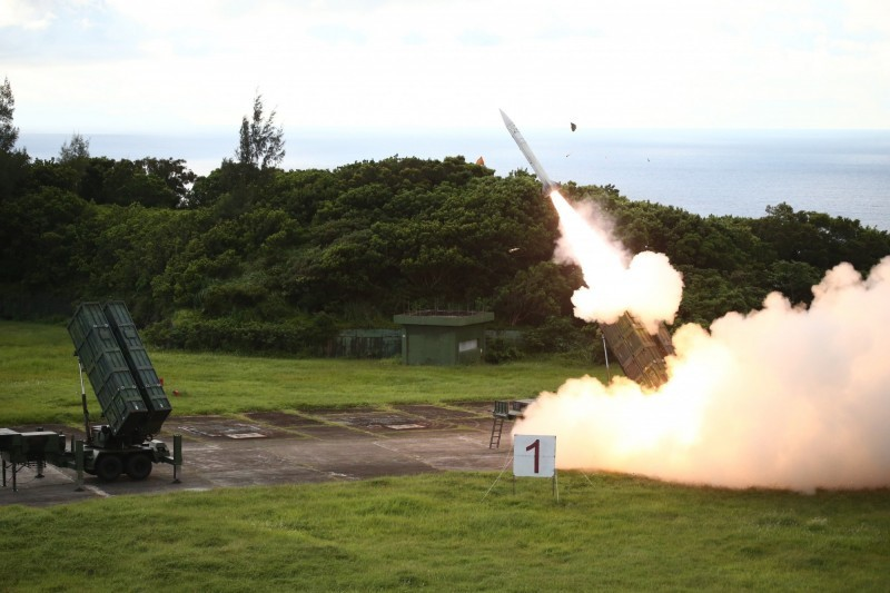 Test launch of a Tiankong missile (Photo from MND)