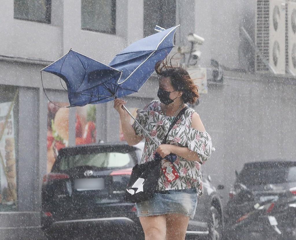 Typhoon Lekima left Taiwan Friday evening.