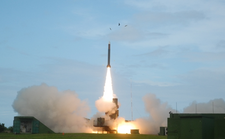 Tiangong III missile test launch (Photo from NCSIST)