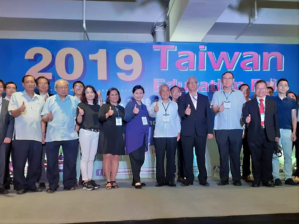 A two-day fair in Manila wants to attract more Filipino students to Taiwan (photo courtesy of the MOE).