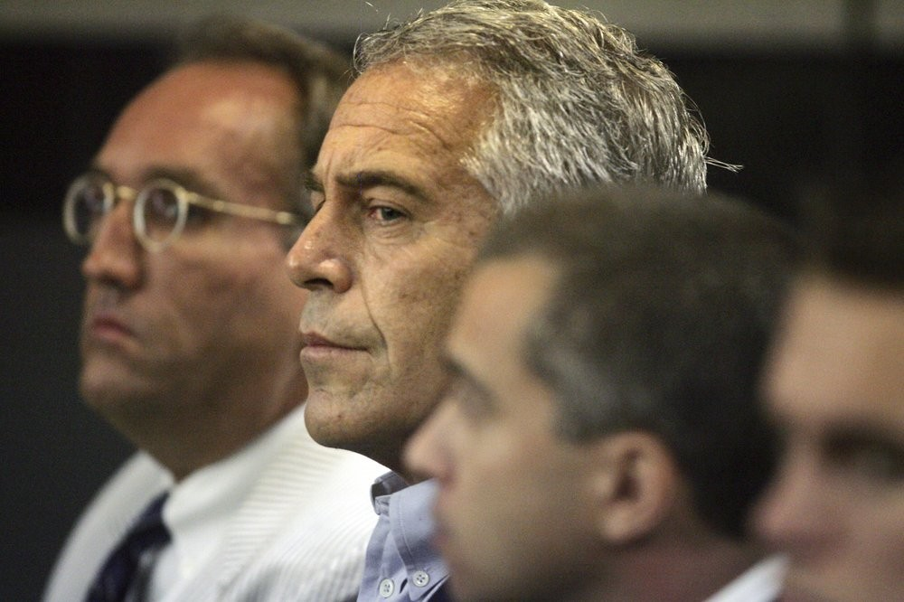 In this July 30, 2008 file photo, Jeffrey Epstein appears in court in West Palm Beach, Fla. (AP Photo)