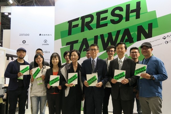 Fresh Taiwan participates in the summer 2019 edition of NY NOW. (CNA photo)