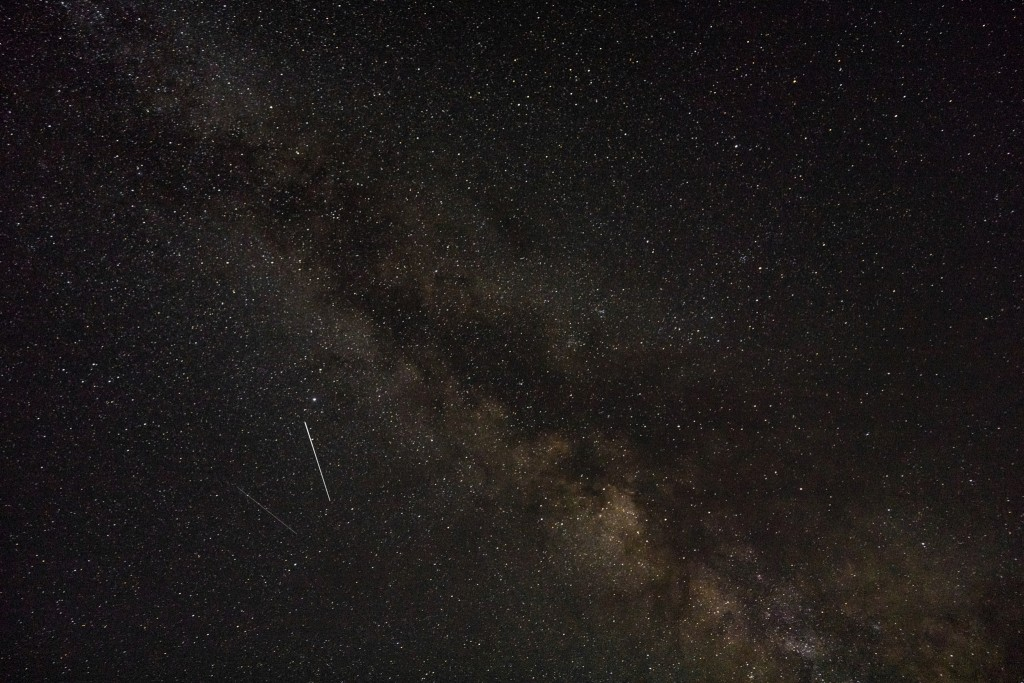The Perseids meteor shower will reach its peak on the night of Aug. 13. (photo: Wikimedia Commons)