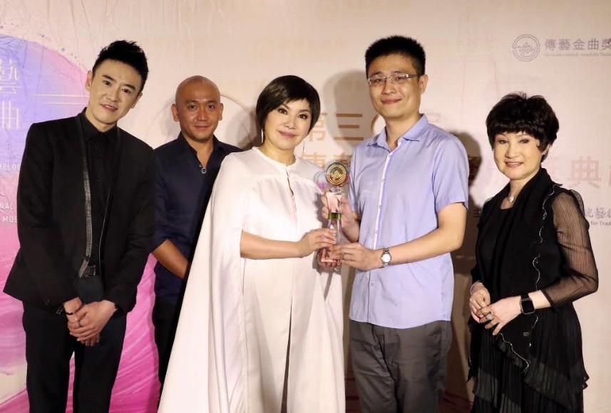 傳藝金曲獎「最佳團體演出獎」頒給唐美雲歌仔戲團(圖/文化部)